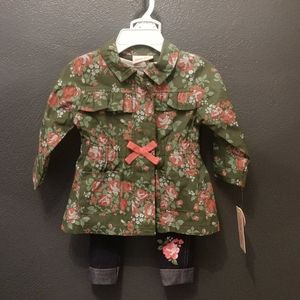 Toddler girl jacket outfit